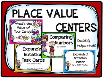 Place Value Centers Bundle