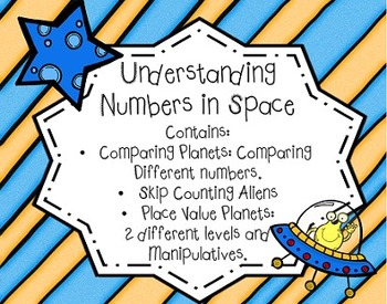 Place Value Centers {Understanding Numbers in Space Common