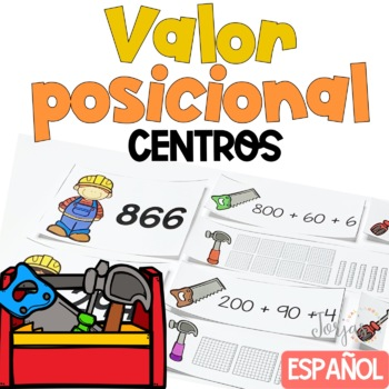 Place Value Centers - Valor Posicional