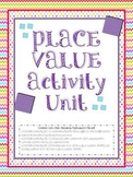 Place Value Centers and Activities - Common Core Aligned -