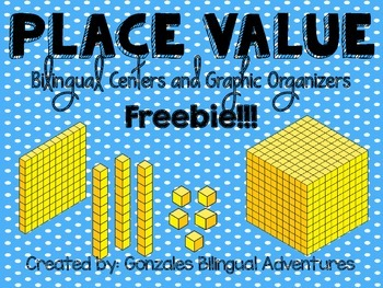 Place Value Centers and Graphic Organizers FREEBIE
