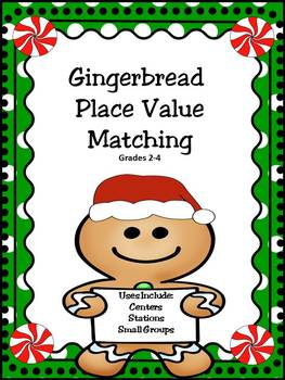 Place Value: Christmas Matching