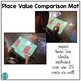 Place Value Comparison Mat FREEBIE!