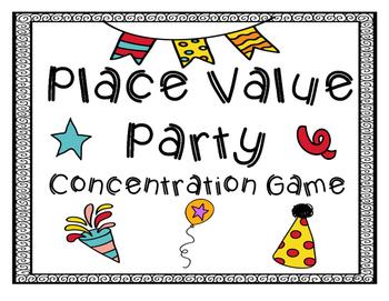 Place Value Concentration
