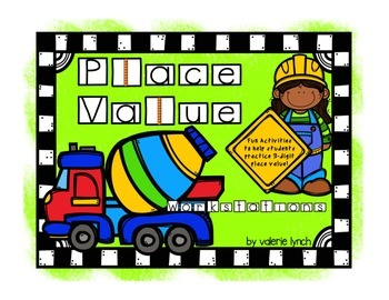 Place Value Construction-Themed Math Workstations