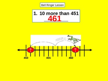 Place Value: Count Forward and Count Back by 10 and 100