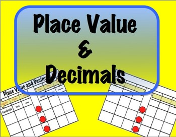 Place Value & Decimals