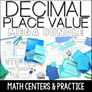 Decimal Place Value Mega Bundle