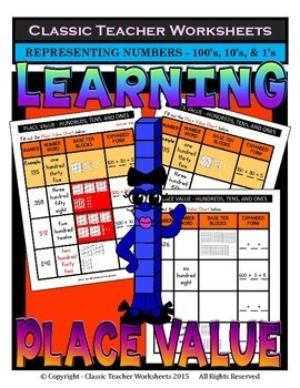 Place Value-Different ways Represent Numbers-Hundreds-Grad