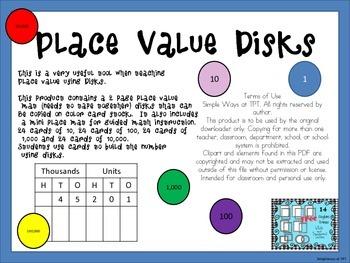 Place Value Disks