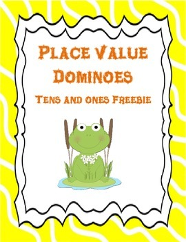 Place Value Dominoes Freebie: Tens and Ones