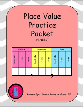Place Value Emergency Substitute Plans or... by Dance Party in ...