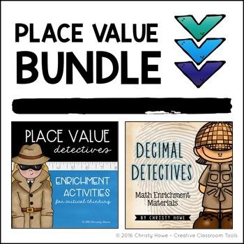 Place Value Enrichment BUNDLE!