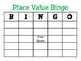 Place Value/ Expanded Form BINGO 3rd Grade