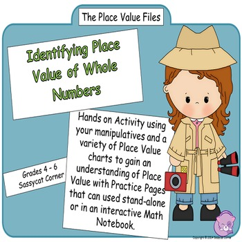 Place Value Files - Identify & Name Place Value of Whole N