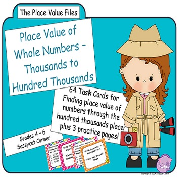 Place Value Files - Naming Hundreds to Hundred Thousands T