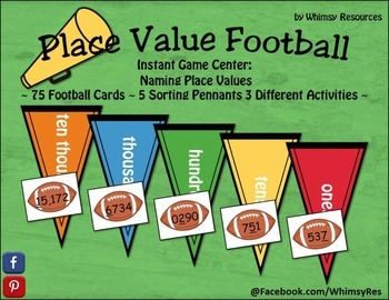 Place Value Footballs