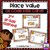 3 Digit Place Value:  QR Task Cards