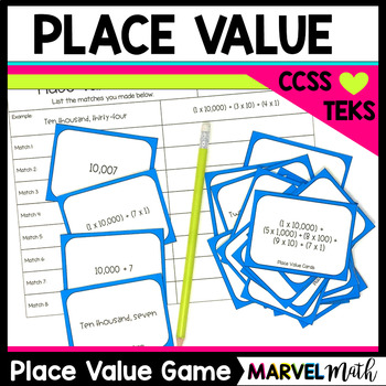 Place Value Game *Expanded Notation* Word Form *Expanded F
