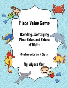 Place Value Game: Hundreds and Thousands