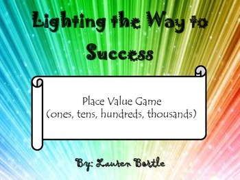Place Value Game (ones, tens, hundreds, thousands)