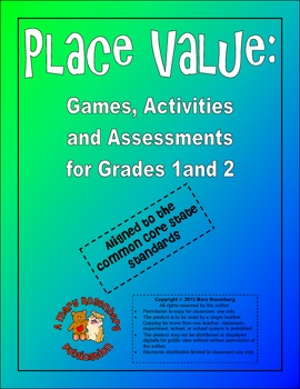 Place Value:  Games, Activities, and Assessments for Grade