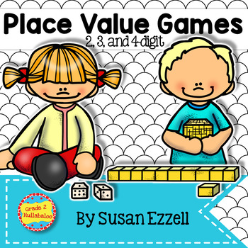 Place Value Games - Print and Go!