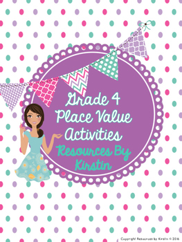 Grade 4 Place Value