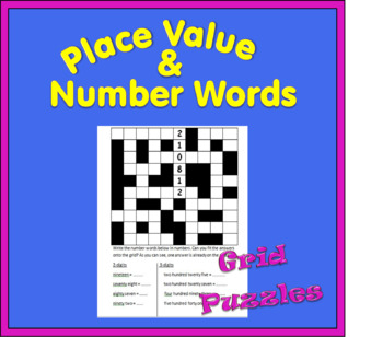 Place Value Grid Puzzles