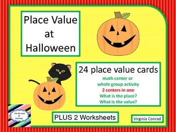 Place Value---Halloween