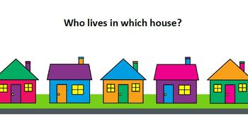 Place Value Houses Colourful Poster Set
