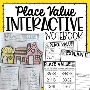 Place Value Interactive Notebook {5.NBT.1}