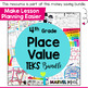 Place Value Journal Prompts 4th Grade TEKS by Marvel Math