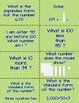 Place Value Left Right Center Game (St. Patrick's Day Edition)
