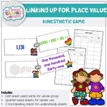 Place Value Linking Up for Place Value Activity Standard,