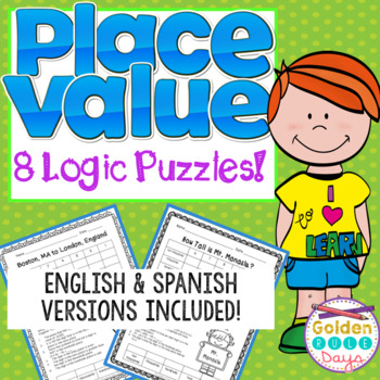 Place Value Logic Puzzles  Enrichment / Gifted & Talented