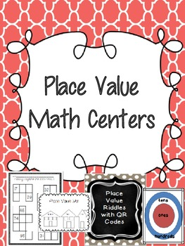 Place Value Math Centers (Common Core Aligned)