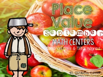 Place Value Math Centers - September