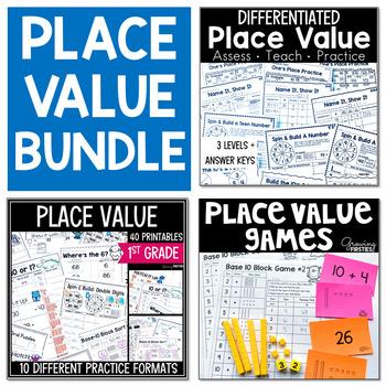 Place Value Bundle - 1st Grade