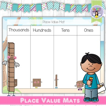 Place Value Mats Freebie