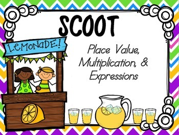 Place Value, Multiplication & Expressions SCOOT (common co