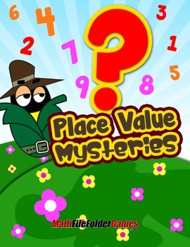 Place Value Mysteries {Place Value Game}
