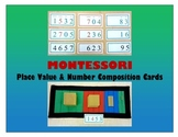 Place Value & Number Composition Cards  {Montessori}
