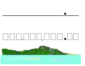 Place Value Number Island