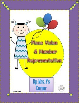 Place Value/Number Representation With Writing Component