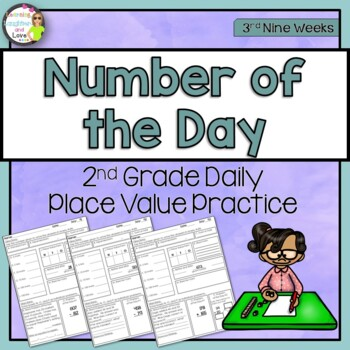 Place Value Number of the Day- 3rd Nine Weeks