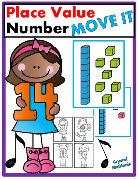 Place Value Numbers 11-19 JUST MOVE! (A Get Up and Move Ar