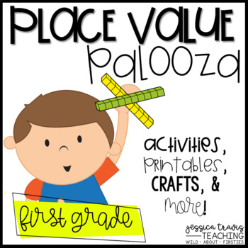 Place Value Palooza! {Activities, centers, printables, & MORE!}