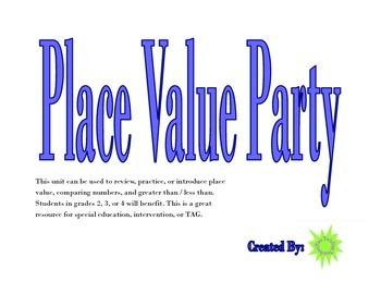 Place Value Party