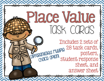Place Value Posters and Task Cards